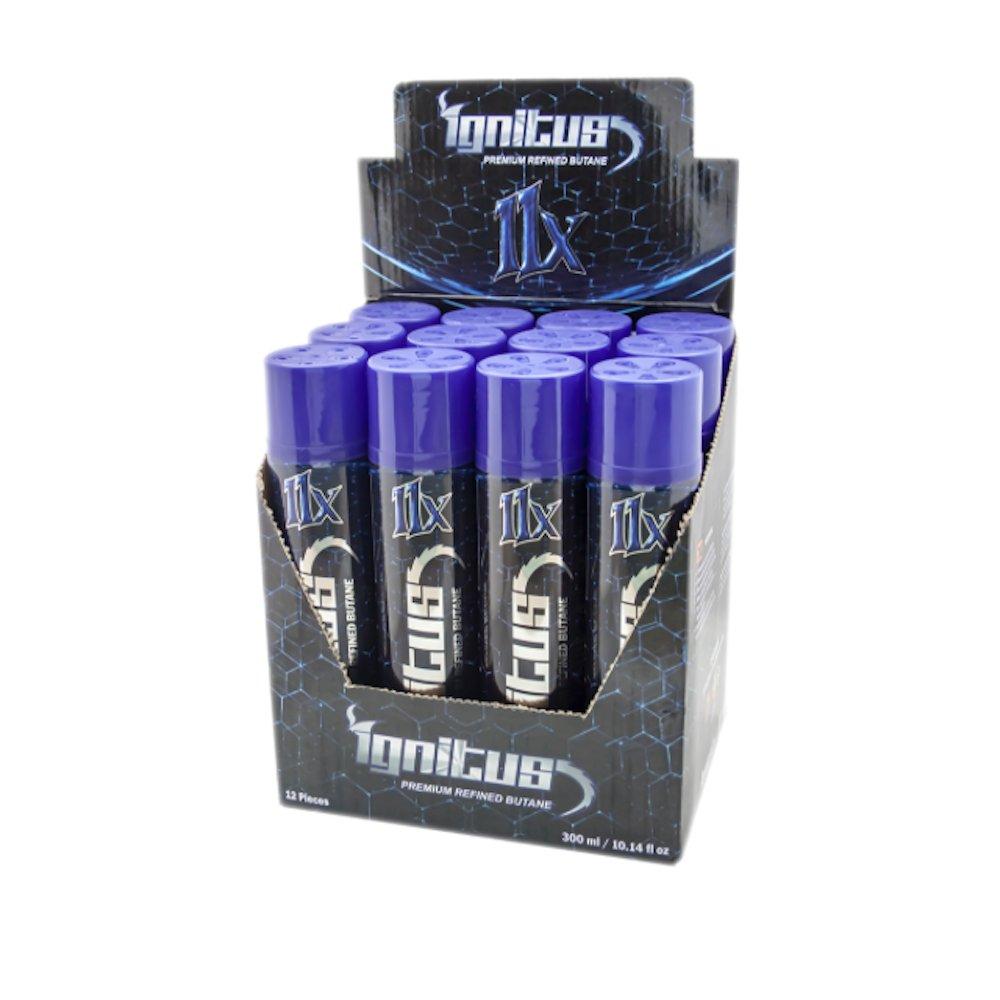 Ignitus 11X Premium Refined Butane - Large 300ml - 24 Cans