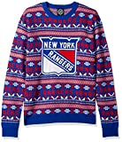 ny rangers crewneck - NHL New York Rangers Unisex Aztec Print Ugly Crew Neck Sweater - Mens Extra Large, X-Large