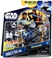 Star Wars 2011 Clone Wars Animated Exclusive DVD Action Figure 2Pack ObiWan Kenobi Battle Droid