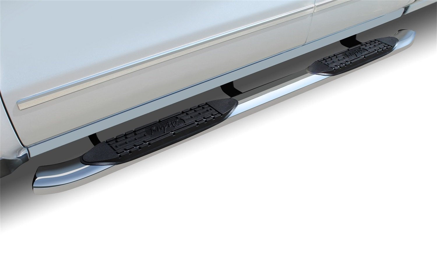 Ford F-250//F350 Super Duty Super Cab 4 OE Style Curved SS Oval Steps Raptor Series 1503-0066 99-16