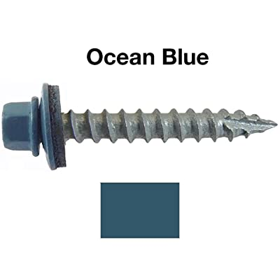Quantity 50 by Fastenere Partial Thread Bright Finish Phillips Drive Type 316 Marine Grade Stainless Steel #10 x 1 Flat Head Wood Screws