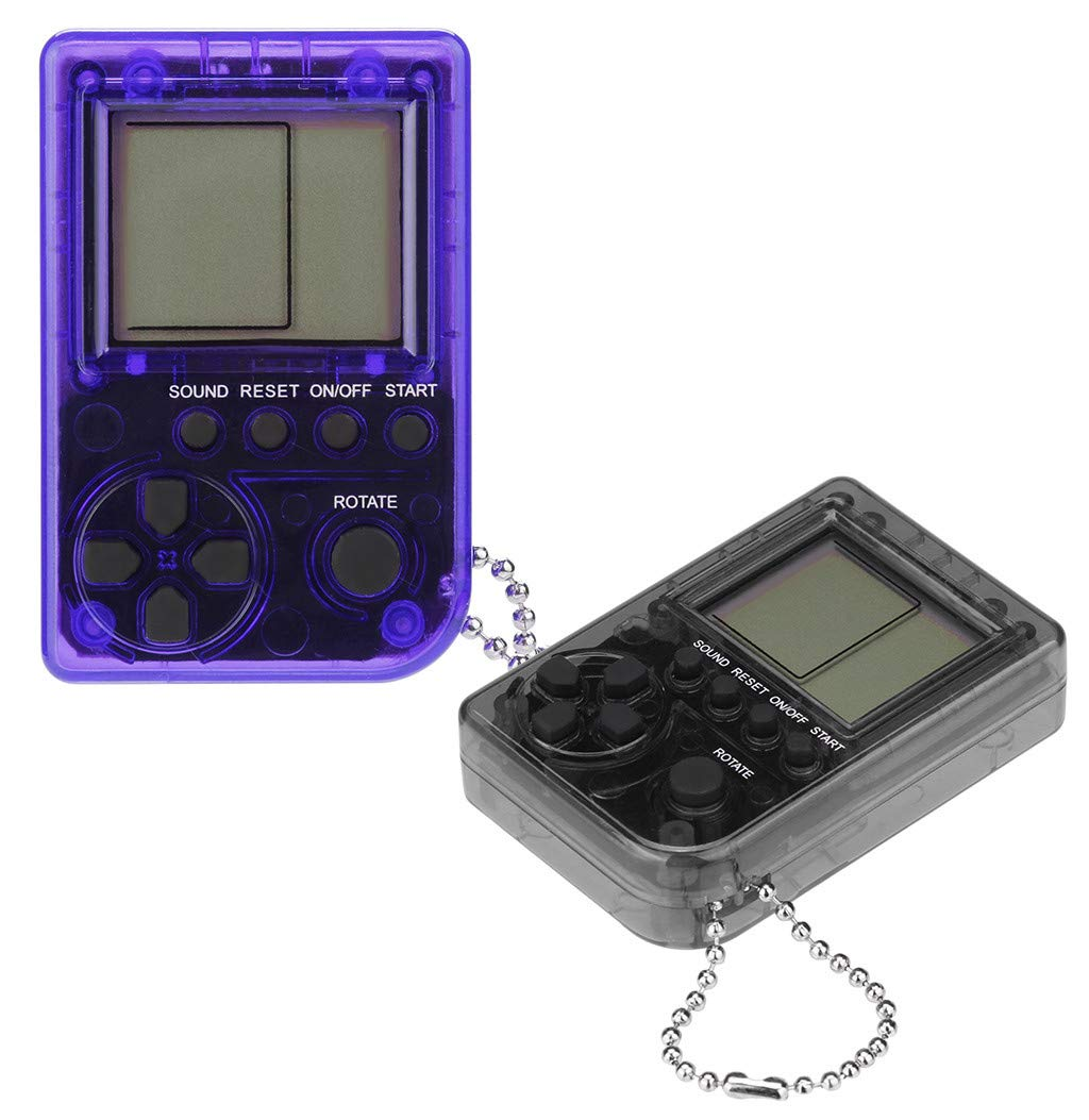Liqiqi Tetris Consola de Juego Super Mini Retro de Mano Game ...