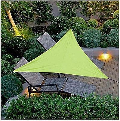 2x 2x 2 toldo de jardín Vela de Moho Impermeable Toldo Triangular 95% de protección UV para Cubierta de Porche Piscina cochera Nuestro tamaño Personalizado,2×2×2m: Amazon.es: Deportes y aire libre