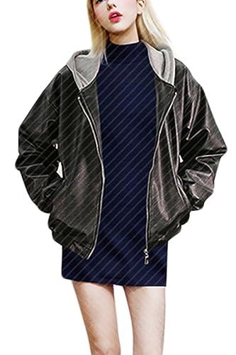 La Mujer De Invierno Ropa De Abrigo Con Capucha Con Capucha Casual Suelto Por Jecket Plus Size