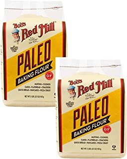 product image for Bob's Red Mill Paleo Baking Flour, 32-ounce ~ Gluten Free ~ Grain Free ~ Nut Flours and Root Starches (2 Pack)