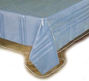 """SOFINNI Clear Plastic Tablecloth Protector, Table Cloth Vinyl (60"""" x 120"""")"""
