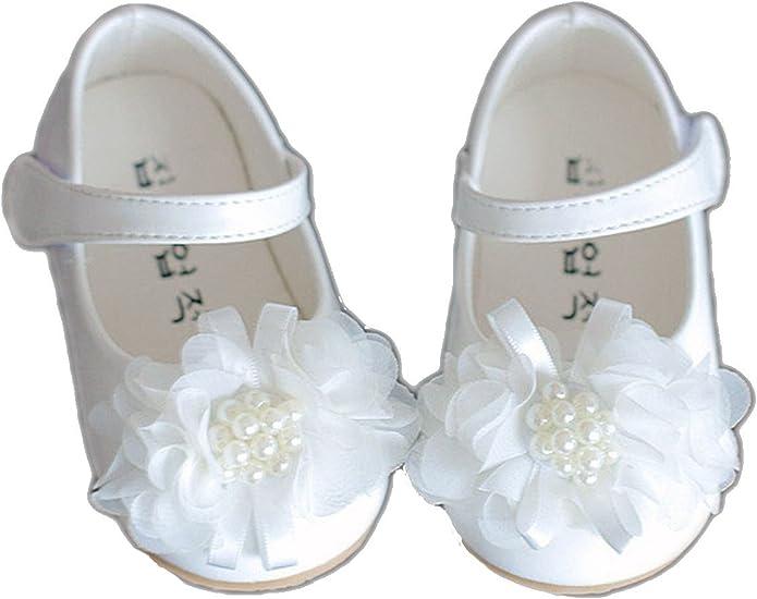 Cinda Baby Girls Polyester Rose Shoes