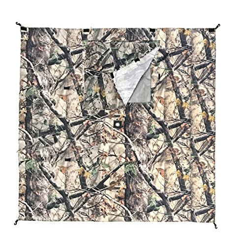 Clam 10811 Wind Panels, (3 Pack), (Camouflage Canopy)