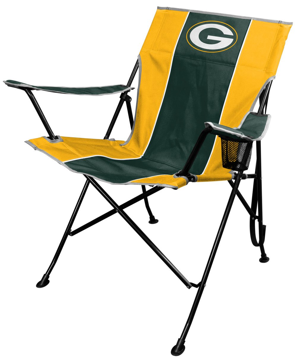 Amazon.com : NFL Portable Folding Tailgate Chair With Cup Holder And  Carrying Case : Sports U0026 Outdoors