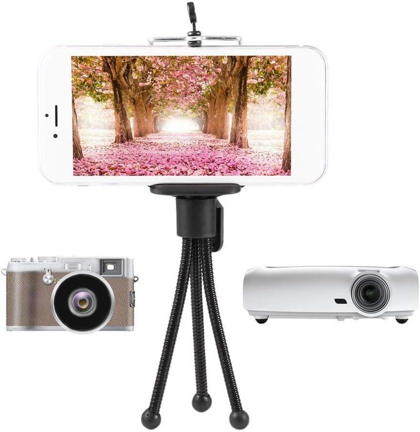 Universal Flexible Mini Holder Stand tr/épied en m/étal Portable pour Appareil Photo num/érique Mini DV projecteur Accessoire Voyage