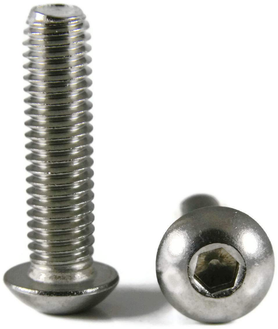 Button Head Socket Cap Screw Stainless Steel Screws UNC 10-24 x 1 Packedge Quantity 1000 - Quality Assurance from JumpingBolt