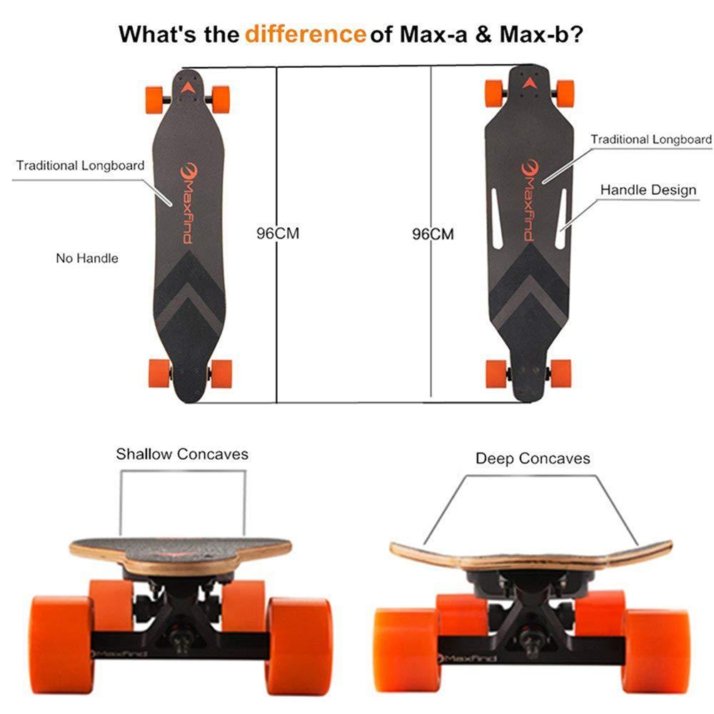 Amazon.com: Maxfind Max A&B - Monopatín eléctrico de 4 ...