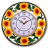 SUNFLOWER 3-Dimensional Wall Clock BRAND NEW!