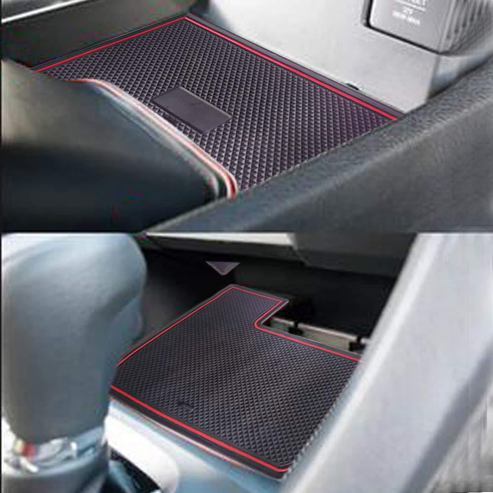 Sporthfish Non-Slip Anti-dust Custom Fit Cup Door Console Liner Accessories for Honda Civic 2019 2018 2017 2016-15 pcs
