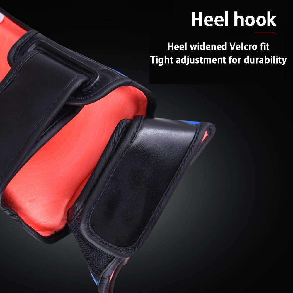 ZYHA Proteges Tibias /Équipement de Protection L/égers et Respirants Faible Protection Contre la Sueur Thickened Wear-Resistant PU Proteges ,Non-Slip Breathable,pour entra/înement de Kickboxing
