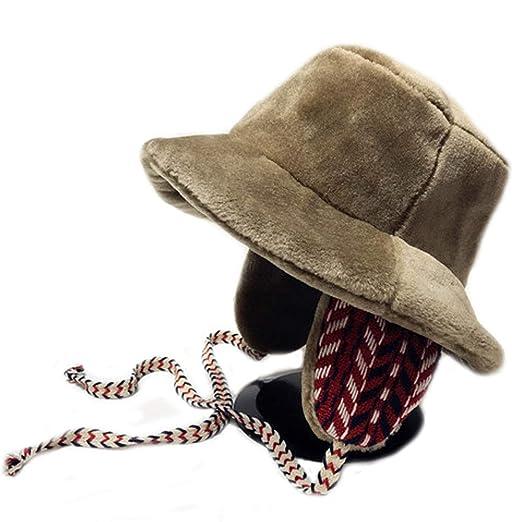 CHENGGUO La Sra. Fisherman Hat, Sombrero de piloto, Sombrero de ...