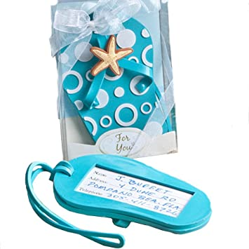eee2a61d5 Amazon.com  Flip Flop Luggage Tag Favors  Clothing