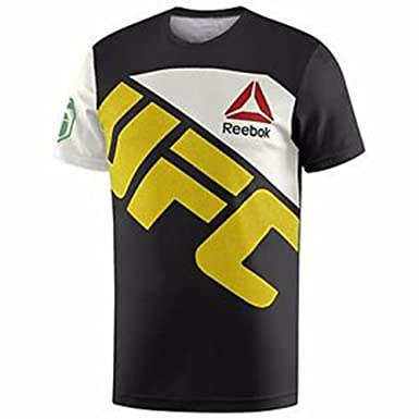 buy online 37a73 f91ed Amazon.com: Reebok Mens UFC Jersey: Clothing
