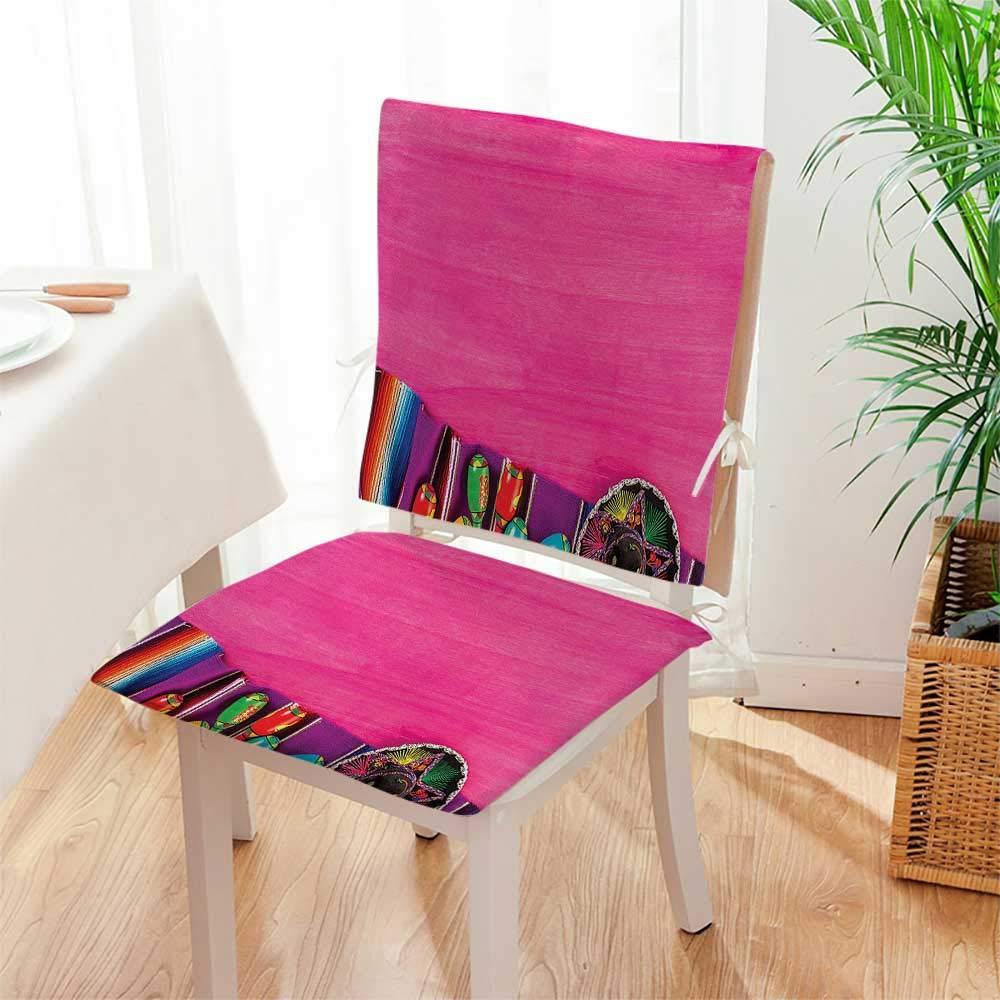 Amazon.com: Mikihome - Cojín para silla (juego de 2) con ...