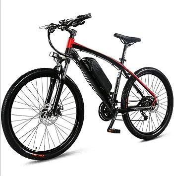 Heatile Bicicleta eléctrica de montaña Batería 36V 8AH E-Bike 9 ...