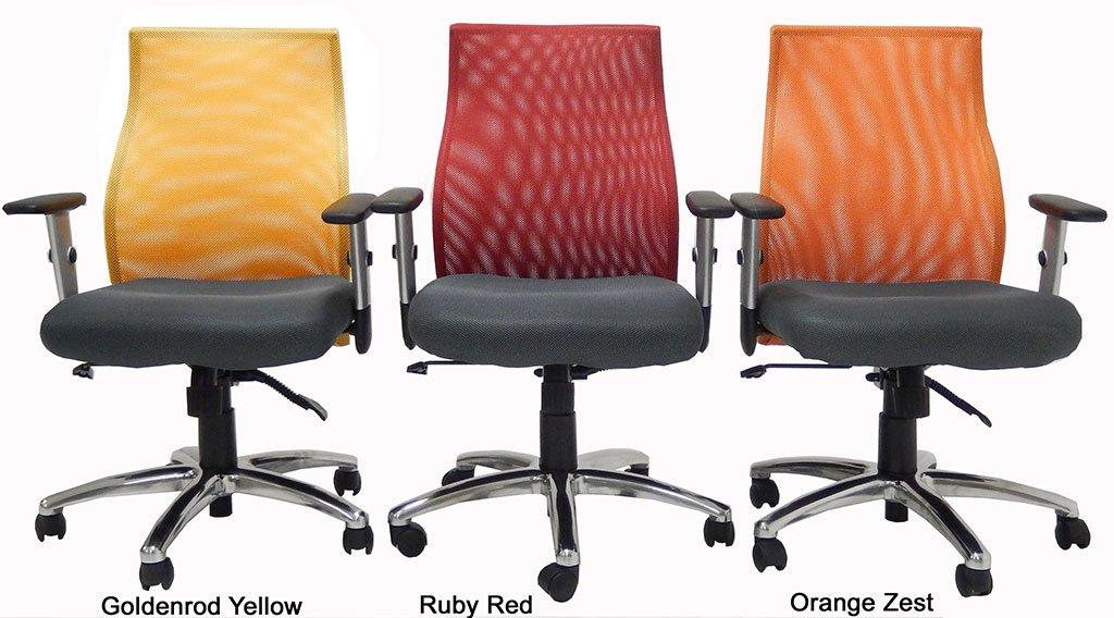 Ergo Vibrant Office Seating - Orange Zest by MOD (Image #1)