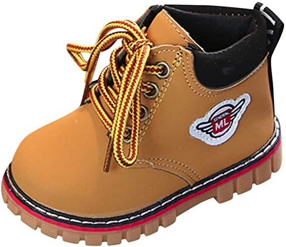XUANOU Baby Children Warm Boys Girls Martin Sneaker Boots Kids Baby Casual Snow Shoes