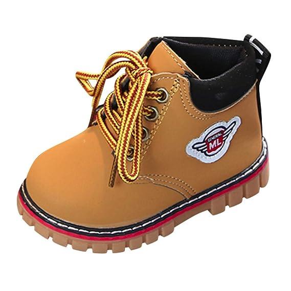 ❤ Botas Cortas de Nieve para bebé, Bebé Niños Calientes Niños Niñas Sneaker Botas Niños Zapatos de Nieve Ocasionales de bebé Absolute: Amazon.es: Ropa y ...