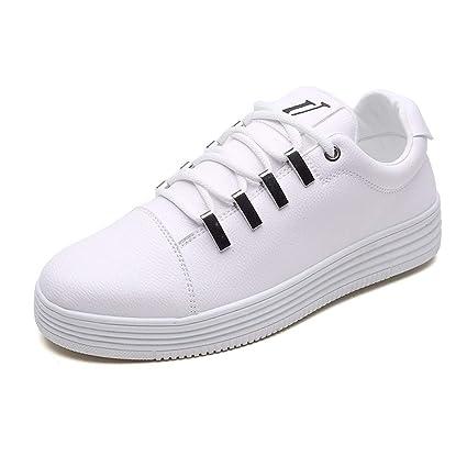 0fa8b81426a5c Amazon.com : KMJBS Men'S Sneakers Little White Shoes Men'S Flat ...