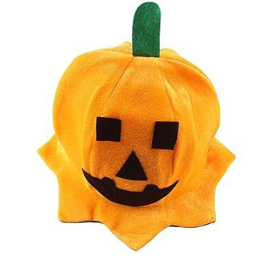 6fdcf3eedfa76 NEPW Fiesta de Disfraces de Halloween Sombrero de Calabaza Sombrero doblado  Unisex Disfraz de Halloween Sombrero de Calabaza Disfraces de Halloween  (Estilo ...