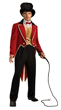 Rubieu0027s Circus Ringmaster Red One Size Costume  sc 1 st  Amazon.com & Amazon.com: Rubieu0027s Circus Ringmaster Red One Size Costume: Clothing