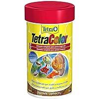 Tetra Color Flakes 52g Tetra Para Todos Os Tipos de Peixe Todas As Fases,