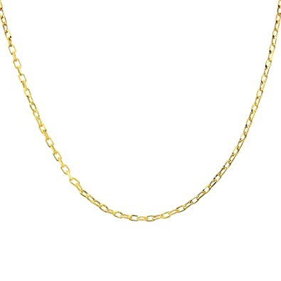 Citerna Thick Rope 9 ct Yellow Gold Chain Necklace of 18 inch/46 cm Length 7Hw9OxoMaR