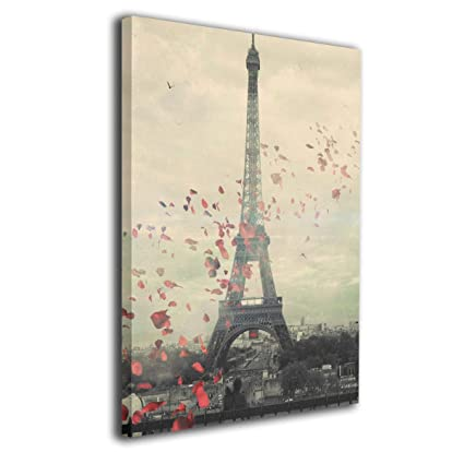 Amazoncom Yz Mamu Paris Wallpaper Wall Art Paintings Prints On