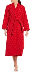 Sleep Sense Spa Essentials by Turkish Cotton Jacquard Wrap Robe ce2c18450