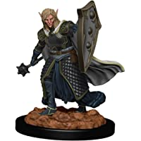 D&D: Icons of the Realms - Premium Figures - Elf Male Cleric, Galápagos Jogos, White