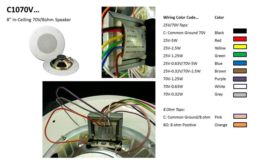 70 volt speakers residential wiring diagram   43 wiring