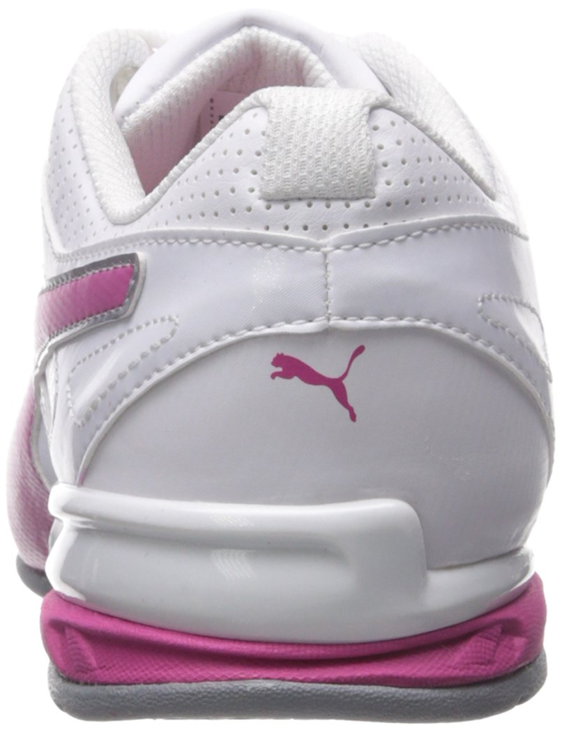 PUMA Women's Tazon 6 WN's fm Cross-Trainer Shoe, White/Fuchsia Purple Silver, 6.5 M US by PUMA (Image #2)