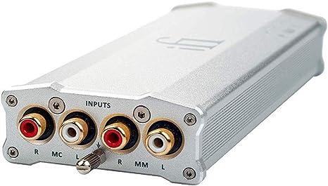 iFi Micro iPhono2 Fonostage / Preamplifier o Preamp Compatible con ...