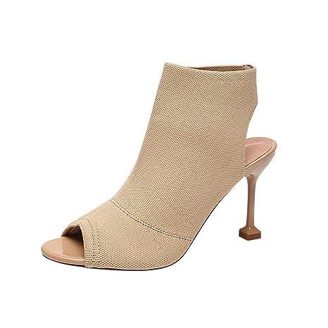 54cde78d3d0ef Amazon.com: Copercn Women's Ladies Simple Plain Color Knit Stretch ...