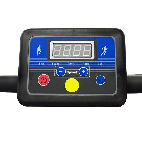 vidaXL Cinta de Correr Eléctrica 100x34 cm Pantalla LCD Caminadora ...
