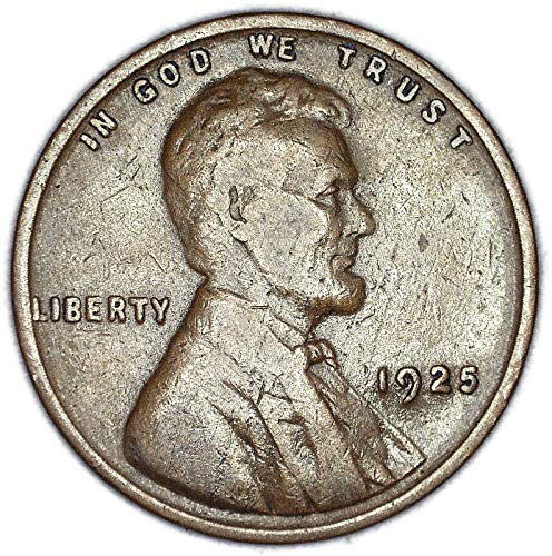 1925 P Lincoln Wheat Cent Fine