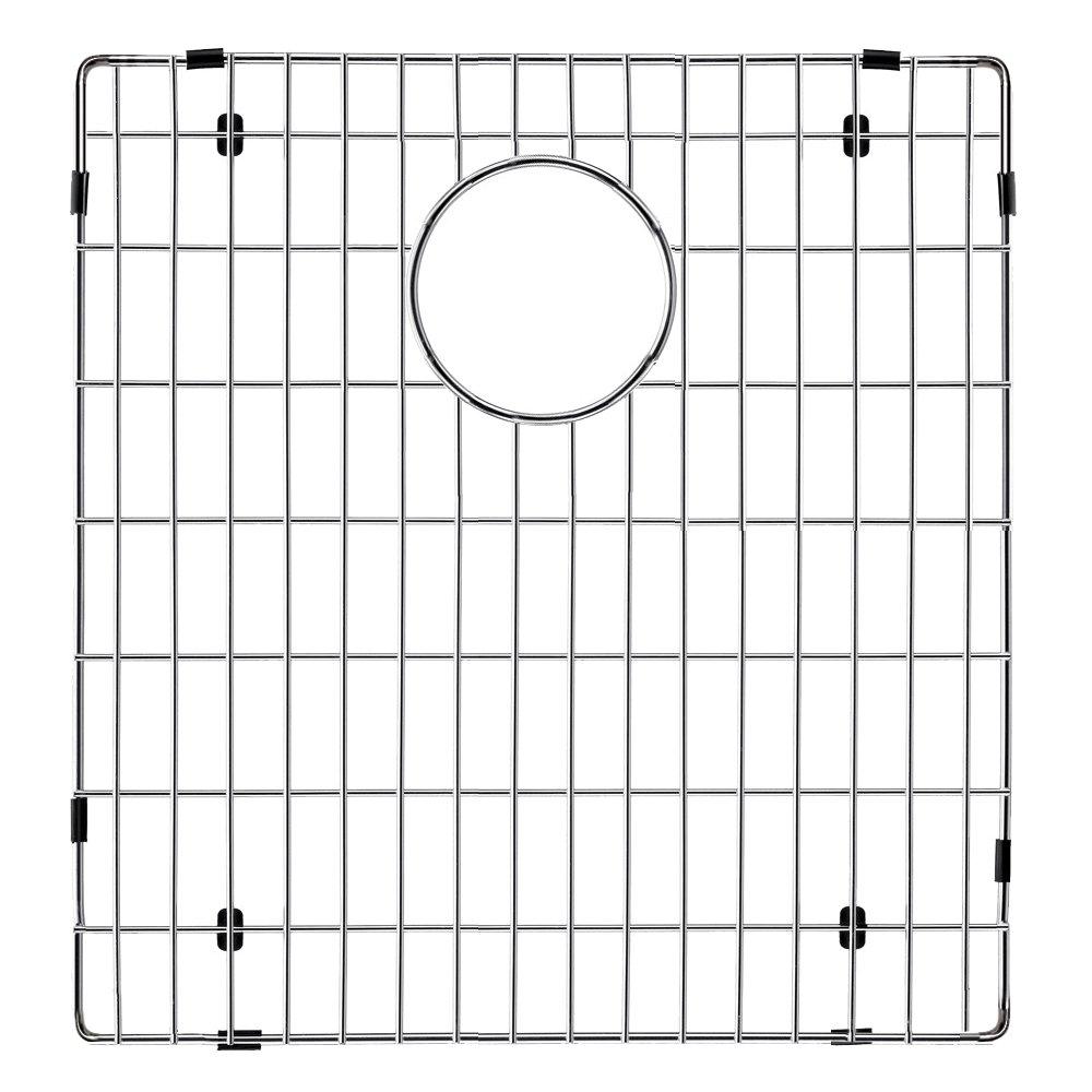 Transolid TSGRDJ Radius Bottom Sink Grid, 15.39'' L x 14.48'' W x 1'' H, Stainless Steel