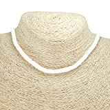 BlueRica Smooth Puka Shell Beads Necklace