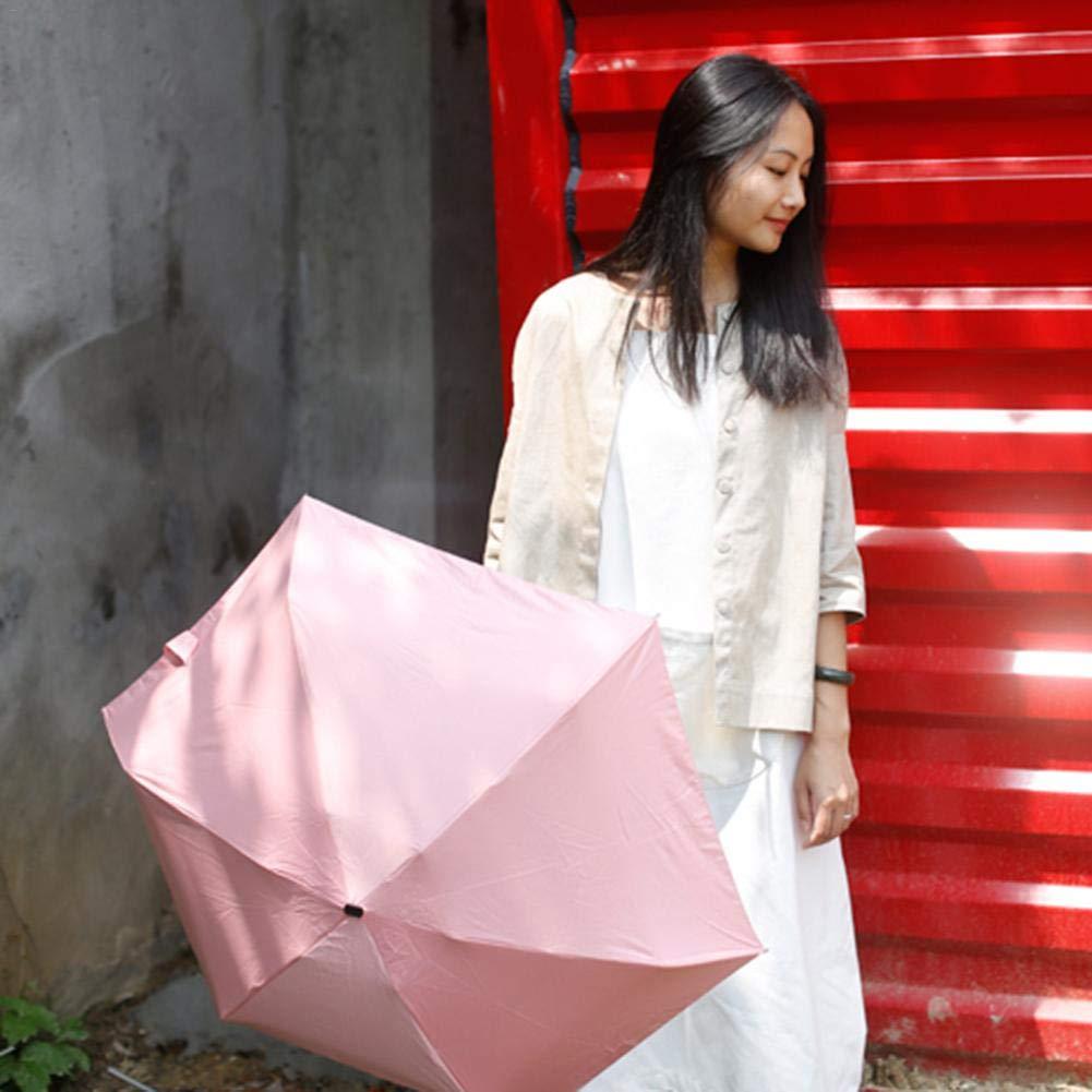 Little Fairy Fang Mini Parapluie de Soleil Ultra L/éger Mode Portable Compact Anti-UV Id/éal pour Sac /à Dos//Sac /à Main//Poche Usefulness Parapluie de Poche /& Parapluie de Voyage /& Parapluie Pliant