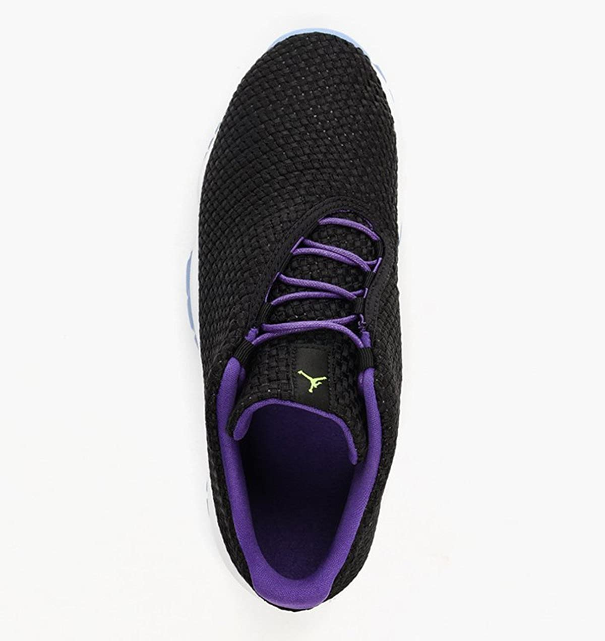 black // ghost green // ultraviolet Jordan Big Kids Future Low GG Size 8 US