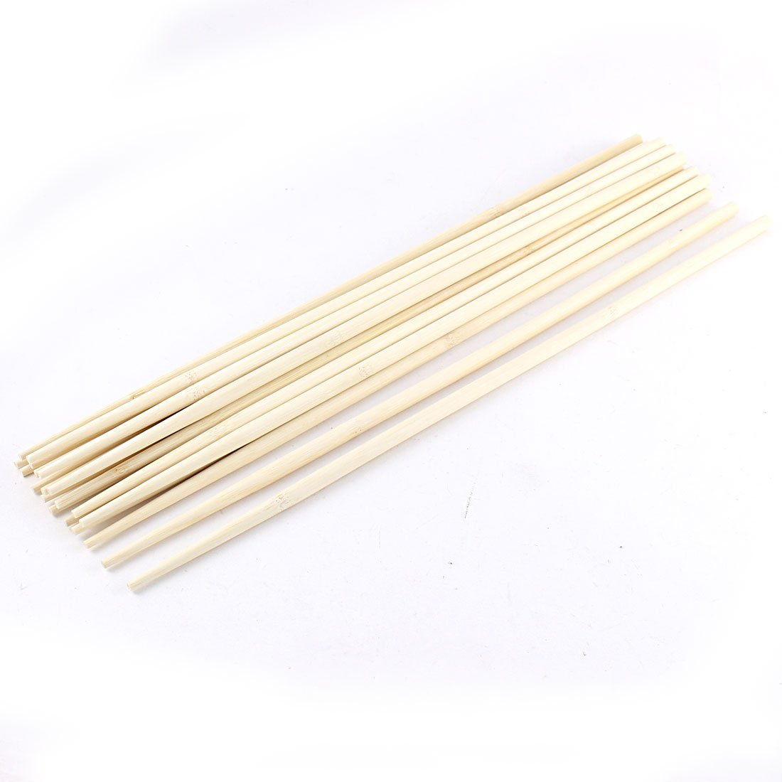 uxcell Kitchen Hot Pot Cooking Wooden Noodles Chopsticks 45cm Length 10 Pairs a16010500ux2856