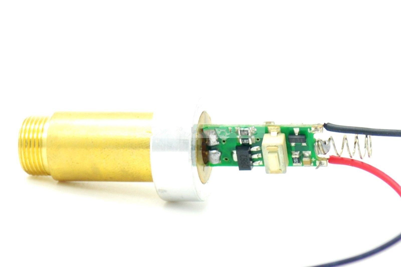 532nm 200mW Green Laser Diode Module 3.7v-4.2v w/ Heatsink by sunshine-electronics (Image #3)