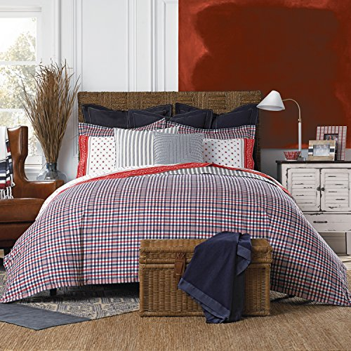 Price comparison product image Tommy Hilfiger Timeless Plaid Comforter Set, King, Multicolor