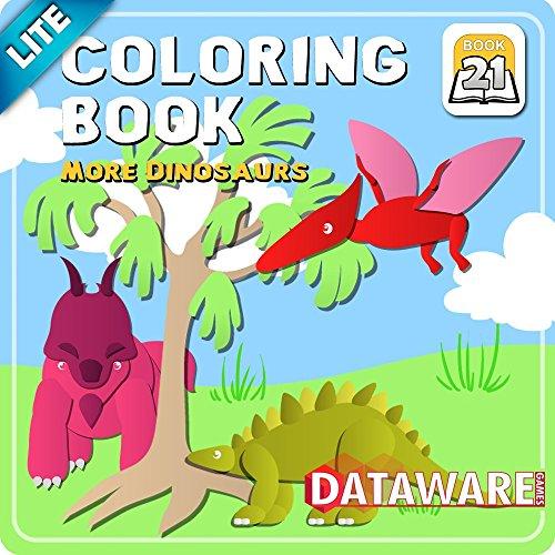 Coloring Book 21 Lite: More Dinosaurs [Download]