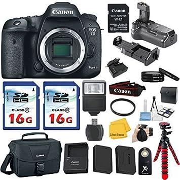 Genuine Canon W-E1 Wi-fi Remoto Adaptador para Canon EOS 7D2 7DII 5DS 5DSR Cámara
